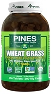 Pines - Wheat Grass Tabs 500 mg. - 500 Tablets by Pines