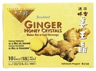 Prince of Peace - Instant Ginger Honey Crystals - 10 Bags by Prince of Peace
