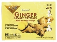 Prince of Peace - Instant Ginger Honey Crystals - 10 Bags, from category: Teas