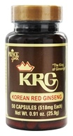 Prince of Peace - Korean Red Ginseng 518 mg. - 50 Capsules, from category: Herbs