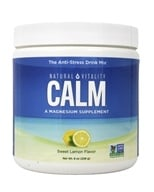 Natural Vitality - Natural Calm Anti-Stress Drink Sweet Lemon Flavor - 8 oz. (183405000131)