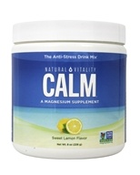 Natural Vitality - Natural Calm Anti-Stress Drink Sweet Lemon Flavor - 8 oz.