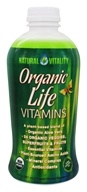 Image of Natural Vitality - Organic Life Vitamins Organic Fruit Flavor - 30 oz.