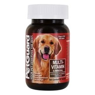 Pet Guard - Multi-Vitamin Mineral For Dogs - 50 Tablets by Pet Guard