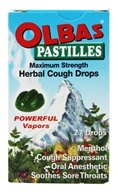 Image of Olbas - Olbas Pastilles Maximum Strength Herbal Cough Drops - 27 Pastilles