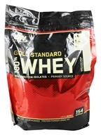 Optimum Nutrition - 100% Whey Gold Standard Protein Vanilla Ice Cream - 10 lbs. (748927028744)