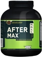 Optimum Nutrition - After Max Post-Workout Maximum Recovery Chocolate Sundae - 4.27 lbs. by Optimum Nutrition