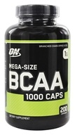 Optimum Nutrition - BCAA 1000 Caps 1000 mg. - 200 Capsules (748927020373)