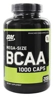 Optimum Nutrition - BCAA 1000 Caps 1000 mg. - 200 Capsules by Optimum Nutrition
