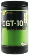 Image of Optimum Nutrition - CGT 10 Creatine Glutamine Taurine Lemon Lime - 1.32 lbs.
