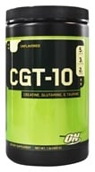 Optimum Nutrition - CGT 10 Creatine Glutamine Taurine Unflavored - 1.32 lbs.