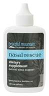 Peaceful Mountain - Nasal Rescue Natural Sinus Support - 1.5 oz. Formerly Sinus Rescue