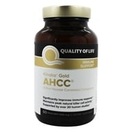 Image of Quality Of Life Labs - Kinoko Gold AHCC 500 mg. - 60 Capsules