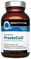 Quality Of Life Labs - Dual-Action Prostacell - 120 Vegetarian Capsules Formerly PR Complex (812259003127)