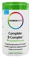 Rainbow Light - Complete B-Complex - 180 Tablets - $21.59