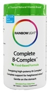 Rainbow Light - Complete B-Complex - 180 Tablets, from category: Vitamins & Minerals