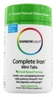 Rainbow Light - Complete Iron Mini-Tabs - 60 Tablets, from category: Vitamins & Minerals