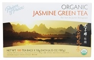 Prince of Peace - Organic Jasmine Green Tea - 100 Tea Bags by Prince of Peace
