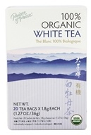 Prince of Peace - 100% Organic White Tea - 20 Tea Bags
