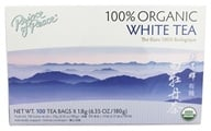 Prince of Peace - 100% Organic White Tea - 100 Tea Bags (039278182002)