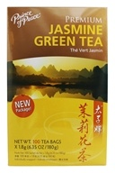 Prince of Peace - Premium Jasmine Green Tea 100% Natural - 100 Tea Bags by Prince of Peace