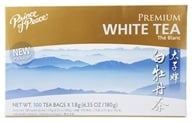 Prince of Peace - Premium Peony White Tea 100% Natural - 100 Tea Bags by Prince of Peace