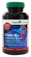 Phyto Therapy - Chew Q Coenzyme Q10 100 mg. - 50 Chewable Wafers