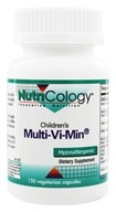 Nutricology - Children's Multi-Vi-Min - 150 Vegetarian Capsules