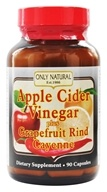 Only Natural - Apple Cider Vinegar Plus 700 mg. - 90 Capsules, from category: Diet & Weight Loss