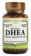 Only Natural - DHEA 99% Pure 10 mg. - 60 Capsules