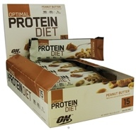 Optimum Nutrition - Optimal Protein Diet Bar Peanut Butter - 1.76 oz. Formerly Complete Protein Diet, from category: Sports Nutrition