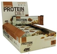 Image of Optimum Nutrition - Optimal Protein Diet Bar Peanut Butter - 1.76 oz. Formerly Complete Protein Diet