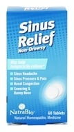 NatraBio - Sinus Relief - 60 Tablets, from category: Homeopathy