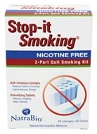 NatraBio - Stop-It Smoking 2 Part Kit (371400852606)