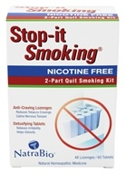 NatraBio - Stop-It Smoking 2 Part Kit, from category: Homeopathy
