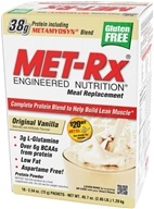 MET-Rx - Meal Replacement Protein Supplement Powder Original Vanilla - 18 Packet(s), from category: Sports Nutrition