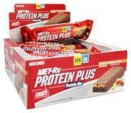 MET-Rx - Protein Plus Protein Bar Chocolate Roasted Peanut with Caramel - 3 oz., from category: Sports Nutrition