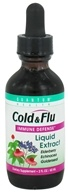 Image of Quantum Health - Cold & Flu Immune Defense Liquid Extract - 2 oz.