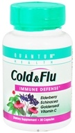 Quantum Health - Cold & Flu Immune Defense - 30 Capsules, from category: Nutritional Supplements