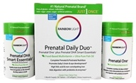 Image of Rainbow Light - Prenatal One Multivitamin 30 Tablets & DHA 250 Smart Essentials 30 Softgels - Complete Prenatal Care Combo Pack