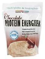 Image of Rainbow Light - Protein Energizer Shake Powder Chocolate - 11 oz.