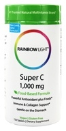Rainbow Light - Super C 1000 mg. - 120 Tablets - $18.17
