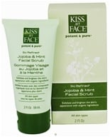 Kiss My Face - Potent & Pure So Refined Facial Scrub Jojoba & Mint - 2 oz.