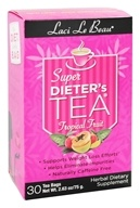 Laci Le Beau - Super Dieter's Tea Tropical Fruit Caffeine Free - 30 Tea Bags (080987011589)