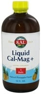 Kal - Liquid Cal-Mag + Pineapple - 16 oz., from category: Vitamins & Minerals