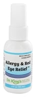 King Bio - Homeopathic Natural Medicine Allergy Red Eye Relief - 2 oz.