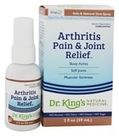 King Bio - Homeopathic Natural Medicine Arthritis & Joint Relief - 2 oz. (357955516224)
