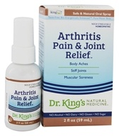 Image of King Bio - Homeopathic Natural Medicine Arthritis & Joint Relief - 2 oz.