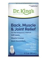 King Bio - Homeopathic Natural Medicine Back Muscle & Joint Relief - 2 oz., from category: Homeopathy