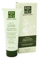Image of Kiss My Face - Potent & Pure Start Up Exfoliating Face Wash - 4 oz.